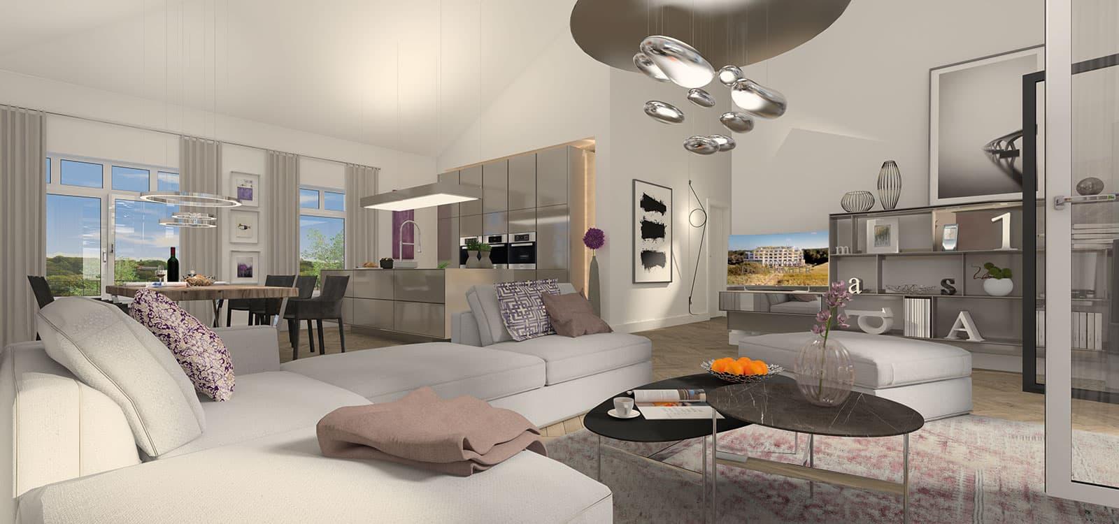 haus im haus maisonettes. Black Bedroom Furniture Sets. Home Design Ideas